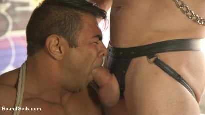 Photo number 30 from Bound For Sodom: Part 2 shot for Bound Gods on Kink.com. Featuring Draven Navarro and Pierce Paris in hardcore BDSM & Fetish porn.