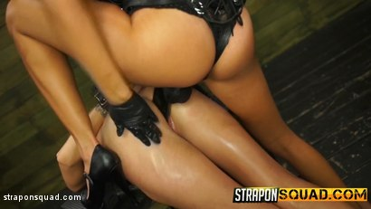 Photo number 8 from Halle Von Loves Lesbian Domination & Foot Worship with Marina Angel shot for Strapon Squad on Kink.com. Featuring Halle Von and Marina Angel in hardcore BDSM & Fetish porn.