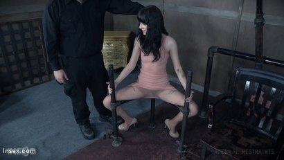 Photo number 1 from Sitting Pretty shot for Infernal Restraints on Kink.com. Featuring Charlotte Sartre in hardcore BDSM & Fetish porn.