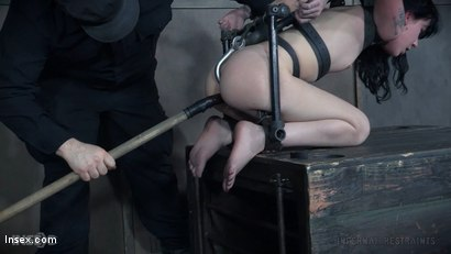 Photo number 17 from Sitting Pretty shot for Infernal Restraints on Kink.com. Featuring Charlotte Sartre in hardcore BDSM & Fetish porn.