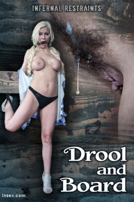 Photo number 16 from Drool and Board shot for Infernal Restraints on Kink.com. Featuring Kenzie Taylor in hardcore BDSM & Fetish porn.