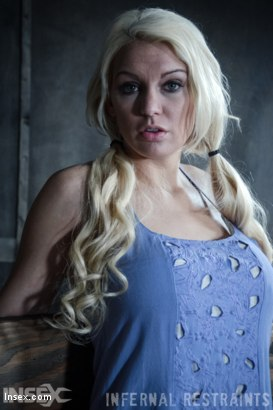 Photo number 6 from Drool and Board shot for Infernal Restraints on Kink.com. Featuring Kenzie Taylor in hardcore BDSM & Fetish porn.