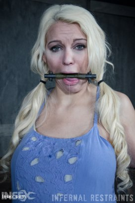 Photo number 8 from Drool and Board shot for Infernal Restraints on Kink.com. Featuring Kenzie Taylor in hardcore BDSM & Fetish porn.