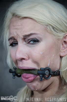 Photo number 10 from Drool and Board shot for Infernal Restraints on Kink.com. Featuring Kenzie Taylor in hardcore BDSM & Fetish porn.