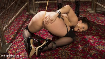 Photo number 10 from Aiden Starr's Classic Lezdom Dungeon with Kimber Woods  shot for Whipped Ass on Kink.com. Featuring Aiden Starr and Kimber Woods in hardcore BDSM & Fetish porn.