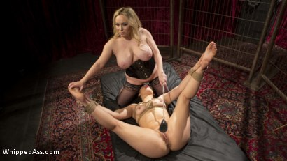 Photo number 6 from Aiden Starr's Classic Lezdom Dungeon with Kimber Woods  shot for Whipped Ass on Kink.com. Featuring Aiden Starr and Kimber Woods in hardcore BDSM & Fetish porn.