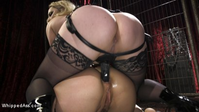 Photo number 8 from Aiden Starr's Classic Lezdom Dungeon with Kimber Woods  shot for Whipped Ass on Kink.com. Featuring Aiden Starr and Kimber Woods in hardcore BDSM & Fetish porn.