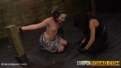 Photo number 10 from Brooklyn Daniels is Up for Slave Training with Mila Blaze & Lexy Villa shot for Strapon Squad on Kink.com. Featuring Brooklyn Daniels in hardcore BDSM & Fetish porn.