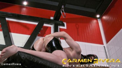 Photo number 4 from Das Schleimloch: Chapter Two shot for Carmen Rivera on Kink.com. Featuring Carmen Rivera, Lady Sahara and Arsch Krater in hardcore BDSM & Fetish porn.
