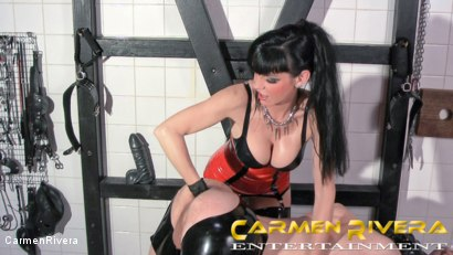 Photo number 6 from Das Schleimloch: Chapter Two shot for Carmen Rivera on Kink.com. Featuring Carmen Rivera, Lady Sahara and Arsch Krater in hardcore BDSM & Fetish porn.