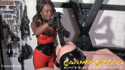 Photo number 7 from Das Schleimloch: Chapter Two shot for Carmen Rivera on Kink.com. Featuring Carmen Rivera, Lady Sahara and Arsch Krater in hardcore BDSM & Fetish porn.