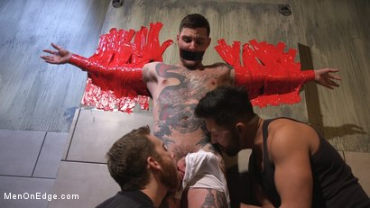 Photo number 1 from Teddy Bryce Gets Tied Up, Locked Down And Edged Hard shot for Men On Edge on Kink.com. Featuring Teddy Bryce in hardcore BDSM & Fetish porn.