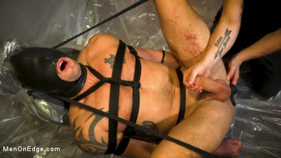 Photo number 15 from Converted Ex-Gay Edged to Cock-Loving Confession! shot for Men On Edge on Kink.com. Featuring Sean Maygers in hardcore BDSM & Fetish porn.