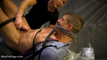 Photo number 3 from Converted Ex-Gay Edged to Cock-Loving Confession! shot for Men On Edge on Kink.com. Featuring Sean Maygers in hardcore BDSM & Fetish porn.