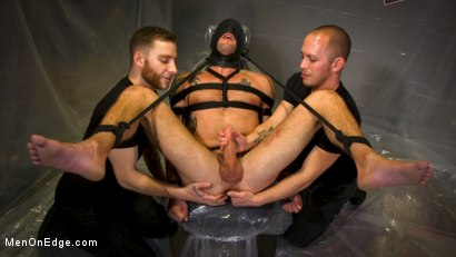 Photo number 9 from Converted Ex-Gay Edged to Cock-Loving Confession! shot for Men On Edge on Kink.com. Featuring Sean Maygers in hardcore BDSM & Fetish porn.