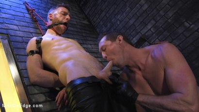 Photo number 1 from Director Sebastian Keys gets edged!  shot for Men On Edge on Kink.com. Featuring Sebastian Keys in hardcore BDSM & Fetish porn.