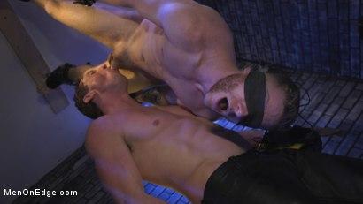 Photo number 4 from Director Sebastian Keys gets edged!  shot for Men On Edge on Kink.com. Featuring Sebastian Keys in hardcore BDSM & Fetish porn.