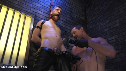 Photo number 11 from Director Sebastian Keys gets edged!  shot for Men On Edge on Kink.com. Featuring Sebastian Keys in hardcore BDSM & Fetish porn.