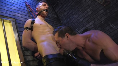 Photo number 15 from Director Sebastian Keys gets edged!  shot for Men On Edge on Kink.com. Featuring Sebastian Keys in hardcore BDSM & Fetish porn.