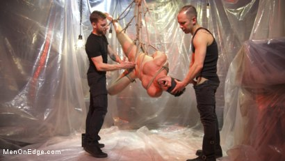 Photo number 13 from Mason Lear Gets Taken and Edged shot for Men On Edge on Kink.com. Featuring Mason Lear in hardcore BDSM & Fetish porn.