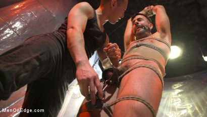 Photo number 16 from Mason Lear Gets Taken and Edged shot for Men On Edge on Kink.com. Featuring Mason Lear in hardcore BDSM & Fetish porn.