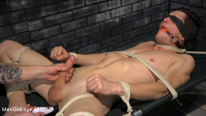 Photo number 18 from New Boy Tony Orlando Endurance Tickling and Teased to Ecstasy shot for Men On Edge on Kink.com. Featuring Tony Orlando in hardcore BDSM & Fetish porn.