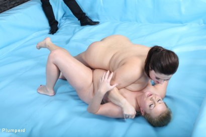 Photo number 7 from Leny Vs. Kristin shot for Plumperd on Kink.com. Featuring Kristin and Leny in hardcore BDSM & Fetish porn.