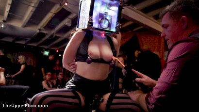 Photo number 10 from Anal Submissive Sluts Ravaged & Squirting at Holiday Winter Orgy shot for The Upper Floor on Kink.com. Featuring Aiden Starr, Ramon Nomar, Karlee Grey and Vanessa Sky in hardcore BDSM & Fetish porn.