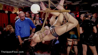 Photo number 11 from Sexy Anal Submissive's Serve BDSM Swingers' Ball shot for The Upper Floor on Kink.com. Featuring Aiden Starr, Ramon Nomar, Karlee Grey and Vanessa Sky in hardcore BDSM & Fetish porn.