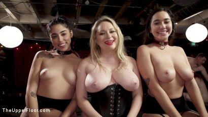 Photo number 17 from Sexy Anal Submissive's Serve BDSM Swingers' Ball shot for The Upper Floor on Kink.com. Featuring Aiden Starr, Ramon Nomar, Karlee Grey and Vanessa Sky in hardcore BDSM & Fetish porn.
