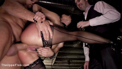 Photo number 6 from Sexy Anal Submissive's Serve BDSM Swingers' Ball shot for The Upper Floor on Kink.com. Featuring Aiden Starr, Ramon Nomar, Karlee Grey and Vanessa Sky in hardcore BDSM & Fetish porn.