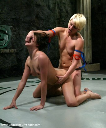 Photo number 15 from Vendetta(10-3) Ranked 1st<br>Athena (0-0) Not Ranked shot for Ultimate Surrender on Kink.com. Featuring Naudia Nyce and Vendetta in hardcore BDSM & Fetish porn.