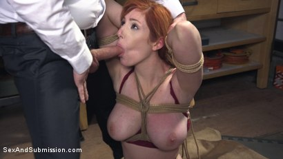 Photo number 3 from The Reformer, One Man's Quest for the Perfect Pussy shot for Sex And Submission on Kink.com. Featuring Tommy Pistol and Lauren Phillips in hardcore BDSM & Fetish porn.
