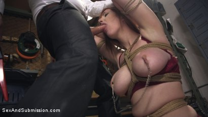 Photo number 4 from The Reformer, One Man's Quest for the Perfect Pussy shot for Sex And Submission on Kink.com. Featuring Tommy Pistol and Lauren Phillips in hardcore BDSM & Fetish porn.