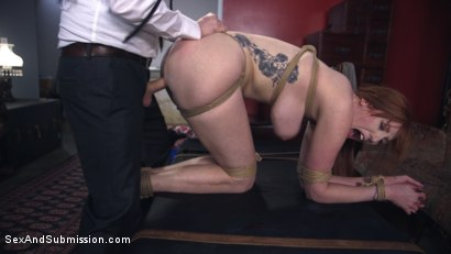 Photo number 6 from The Reformer, One Man's Quest for the Perfect Pussy shot for Sex And Submission on Kink.com. Featuring Tommy Pistol and Lauren Phillips in hardcore BDSM & Fetish porn.