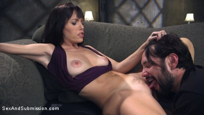 Photo number 2 from Anal Alimony shot for Sex And Submission on Kink.com. Featuring Tommy Pistol and Alana Cruise in hardcore BDSM & Fetish porn.