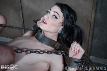 Photo number 16 from Dolled Up  shot for Infernal Restraints on Kink.com. Featuring Lydia Black in hardcore BDSM & Fetish porn.