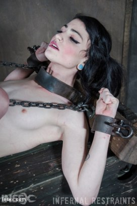 Photo number 18 from Dolled Up  shot for Infernal Restraints on Kink.com. Featuring Lydia Black in hardcore BDSM & Fetish porn.