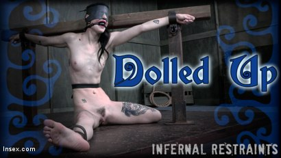 Photo number 22 from Dolled Up  shot for Infernal Restraints on Kink.com. Featuring Lydia Black in hardcore BDSM & Fetish porn.