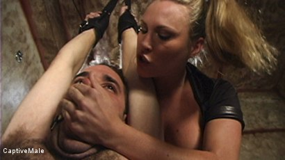 Photo number 4 from Harmony Evaluates Oscar Beyer with Brutal Cock Torment shot for Captive Male on Kink.com. Featuring Harmony and Oscar Beyer in hardcore BDSM & Fetish porn.