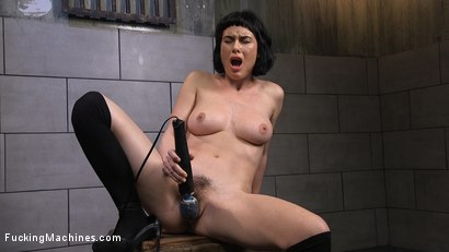 Photo number 1 from Super Cute Newbie Gets Machine Fucked Into Mind Blowing Orgasms shot for Fucking Machines on Kink.com. Featuring Olive Glass in hardcore BDSM & Fetish porn.