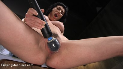 Photo number 3 from Super Cute Newbie Gets Machine Fucked Into Mind Blowing Orgasms shot for Fucking Machines on Kink.com. Featuring Olive Glass in hardcore BDSM & Fetish porn.