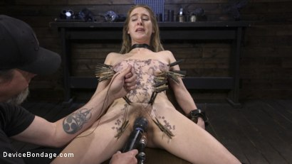 Photo number 11 from The Destruction of Cadence Luxe shot for Device Bondage on Kink.com. Featuring Cadence Lux in hardcore BDSM & Fetish porn.