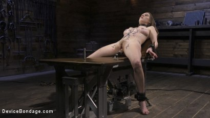 Photo number 13 from The Destruction of Cadence Luxe shot for Device Bondage on Kink.com. Featuring Cadence Lux in hardcore BDSM & Fetish porn.