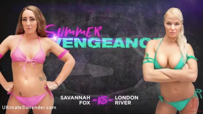 Photo number 9 from Savannah Fox vs London River shot for Ultimate Surrender on Kink.com. Featuring Savannah Fox and London River in hardcore BDSM & Fetish porn.
