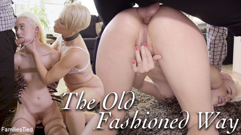 Families Tied - Gold-Digging Anal Teen Learns the Old Fashioned Way - Kink