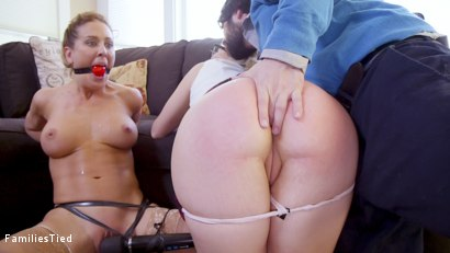 Photo number 9 from The Honeypot: Mother Daughter Scam Artists Anally Punished By Tech Nerd shot for  on Kink.com. Featuring Tommy Pistol, Cherie DeVille and Summer Day in hardcore BDSM & Fetish porn.