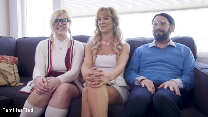 Photo number 1 from The Honeypot: Mother Daughter Scam Artists Anally Punished By Tech Nerd shot for  on Kink.com. Featuring Tommy Pistol, Cherie DeVille and Summer Day in hardcore BDSM & Fetish porn.