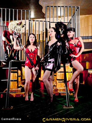 Photo number 11 from Horny Horse Power: Chapter One shot for Carmen Rivera on Kink.com. Featuring Ella Kross, Fetish Liza, Carmen Rivera, Pony Browni and Blashure in hardcore BDSM & Fetish porn.