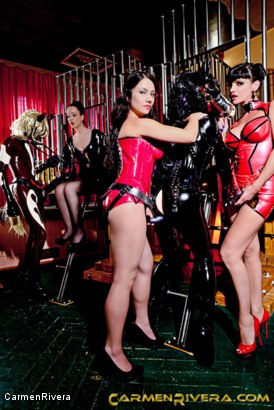 Photo number 12 from Horny Horse Power: Chapter One shot for Carmen Rivera on Kink.com. Featuring Ella Kross, Fetish Liza, Carmen Rivera, Pony Browni and Blashure in hardcore BDSM & Fetish porn.